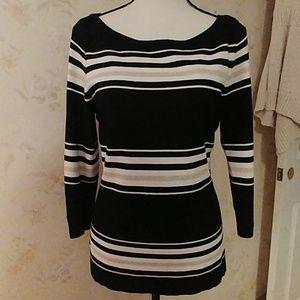 WHBM striped shirt